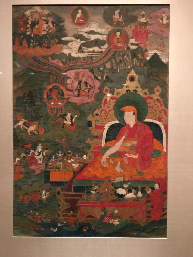 Lama performing a long life ritual IMG_2472
