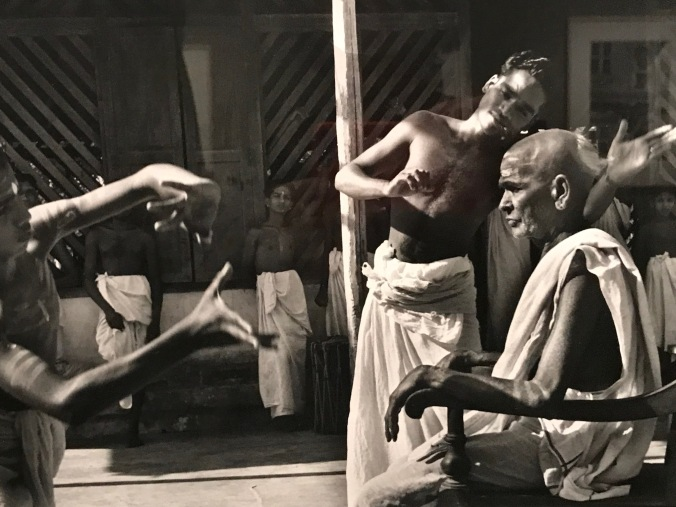 Cartier Bresson photo of dancers and their teacher Rubin Museum Nov 17, 2017 IMG_2815