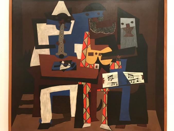 Suddenly Mad MOMA Picasso Three Musicians