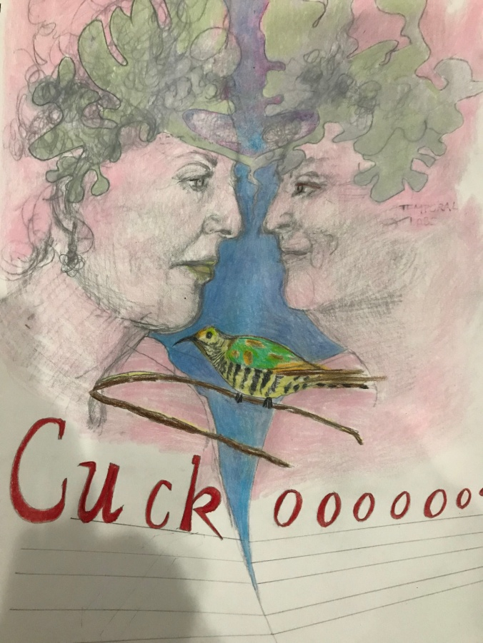 Suddenly Mad - Self Portraits with Cuckoo