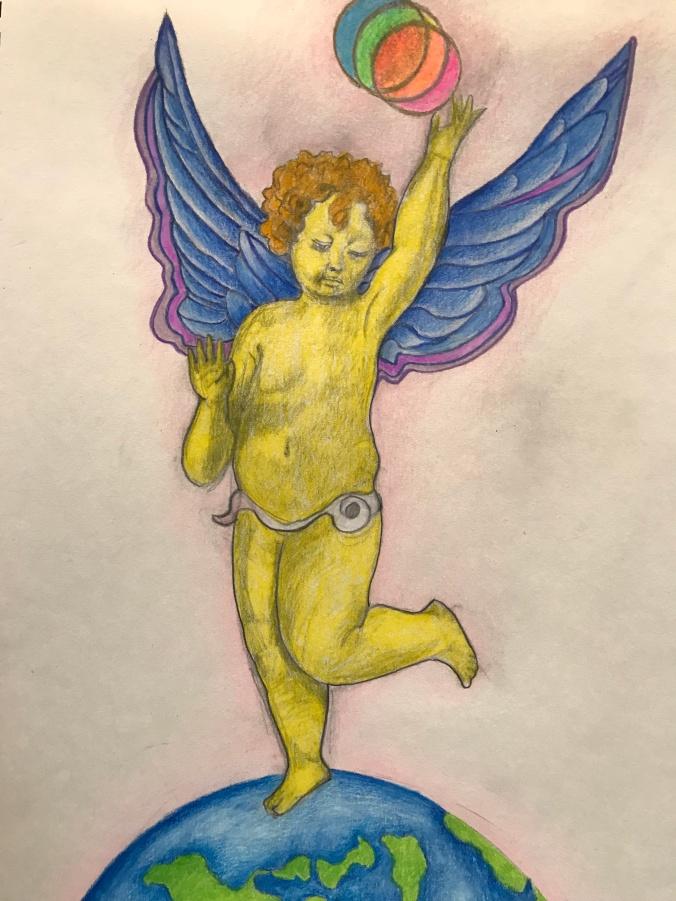 Angel for Susan - full frame - Minna Packer