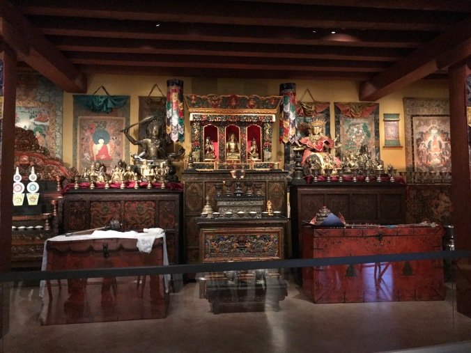 Suddenly Mad- Buddhist shrine