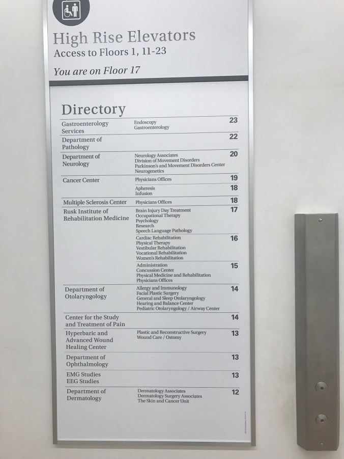 Suddenly Mad- Elevator directory