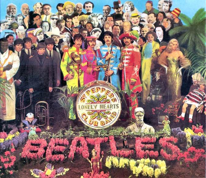 Suddenly Mad- Sgt. Pepper's Lonley Hearts Club Band - The Beatles album cover