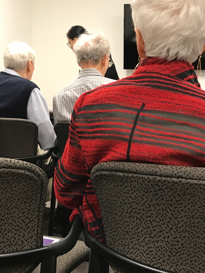 Suddenly Mad- Alzheimer's Assn Support Group meeting