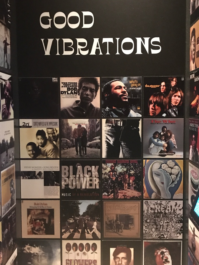 Good Vibrations from Remembering the sixties exhibit at the ny public library