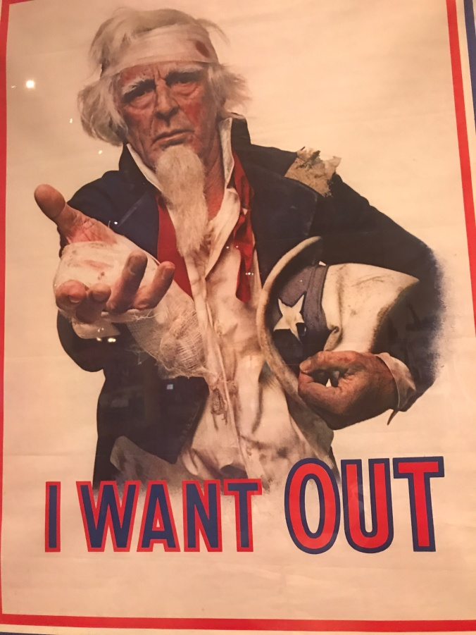 Suddenly Mad- I Want Out parody poster