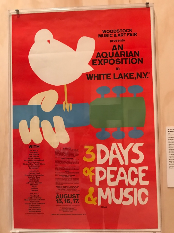 Suddenly Mad- Woodstock poster original