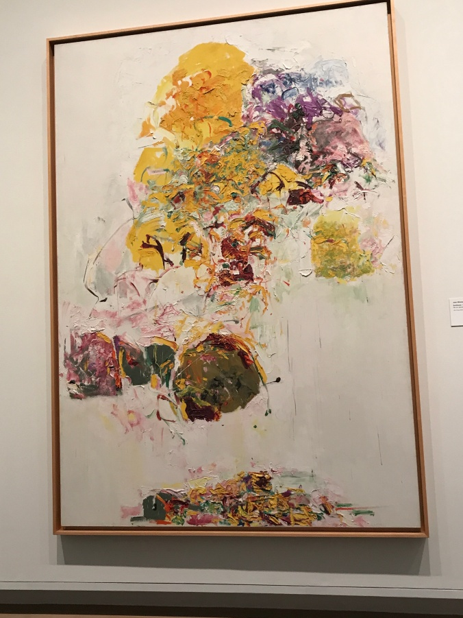 Suddenly Mad- Joan Mitchell - Sunflower 1969 at the Met