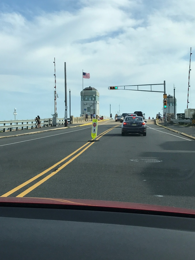 Suddenly Mad- bridge crossing to the beach