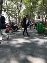Suddenly Mad- Bryant Park 1