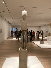Suddenly Mad- Self and others - Brancusi at Moma installation