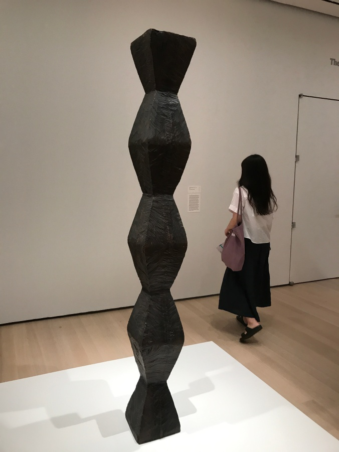 Suddenly Mad- Self and others - earliest version of the Endless Column - Brancusi