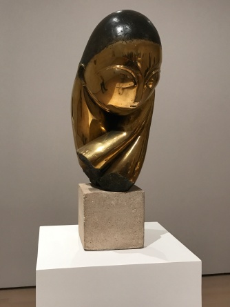 Suddenly Mad- Self and others - Mlle Pogany by Brancusi