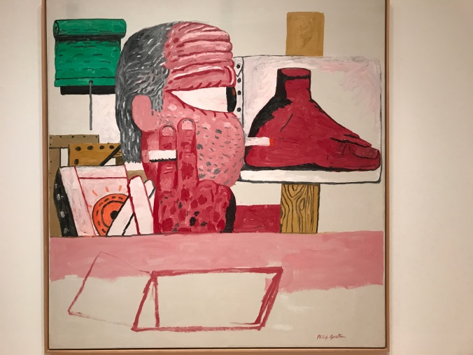 Suddenly Mad- Self and others - Phillip Guston - Inside the Studio