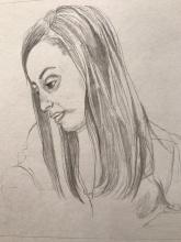 Suddenly Mad- My Soul (portrait of Mimi)
