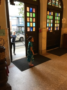 This is my life with Alzheimer_s now - Heiya a little girl at the synagogue for musical Shabbat