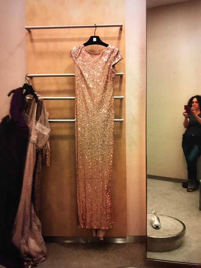 Suddenly Mad- People, places things- at Macy_s shopping for the dress I wore to my sons wedding - Jan 2014