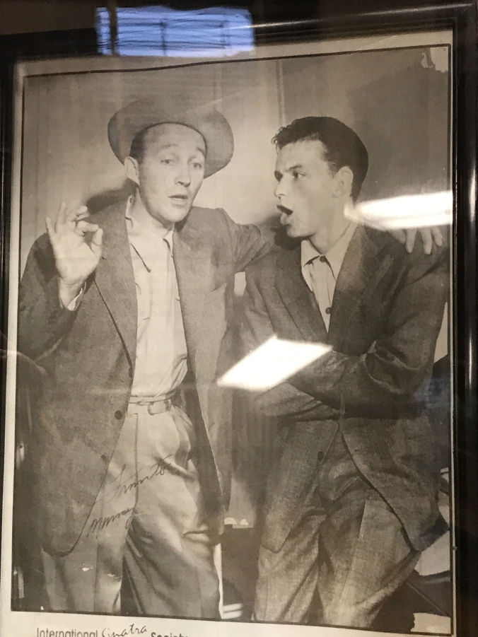 Suddenly Mad- The Cardinal Truth (photo of Bing Crosby and Frank Sinatra at the library)