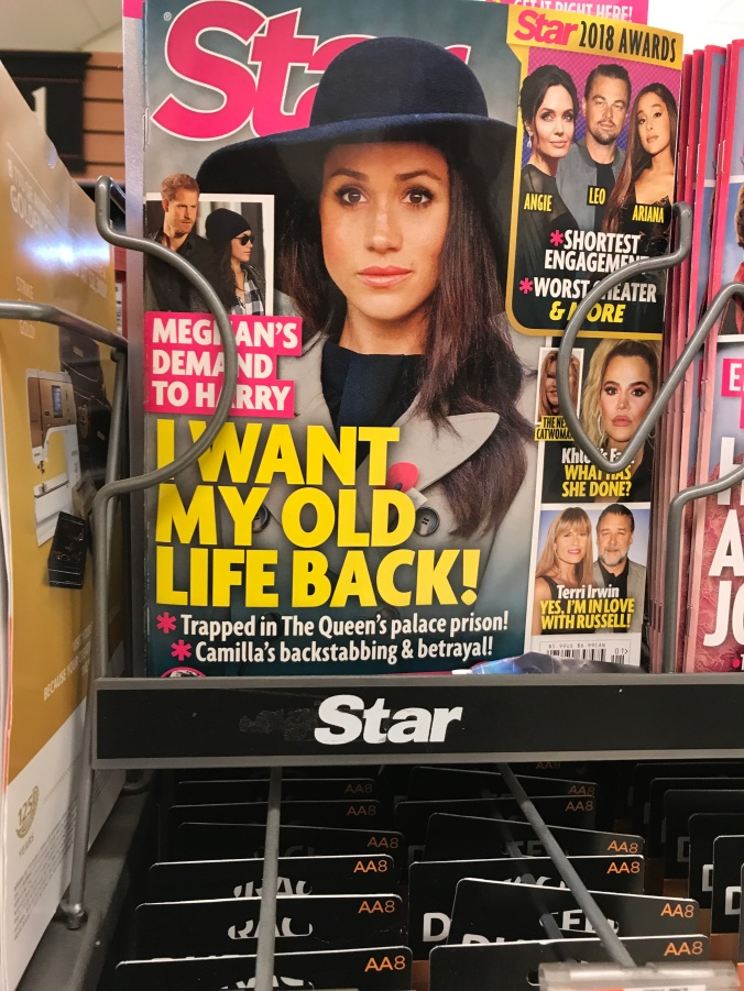 "suddenly mad- a new years rant (cover of star magazine ""i want my old life back"""