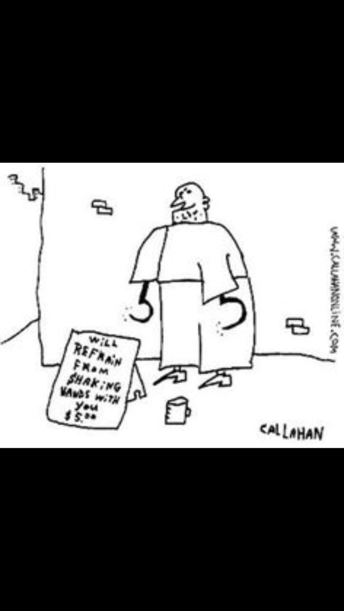Suddenly Mad- A Better World (John Callahan cartoon with hooks for hands - irreverent humor)