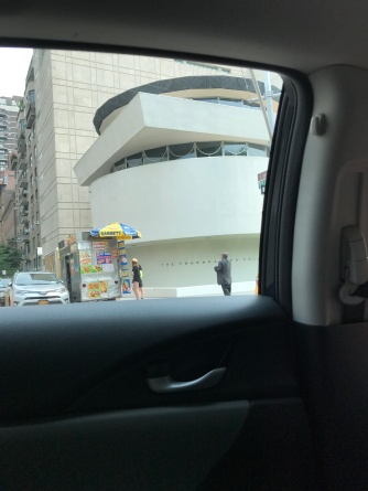 Now and Then - on the way to the Neue Gallerie (the Guggenheim Museum)