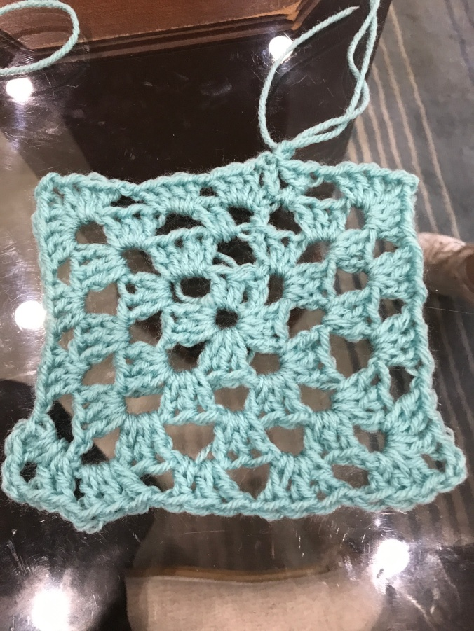 Suddenly Mad- Crochet square