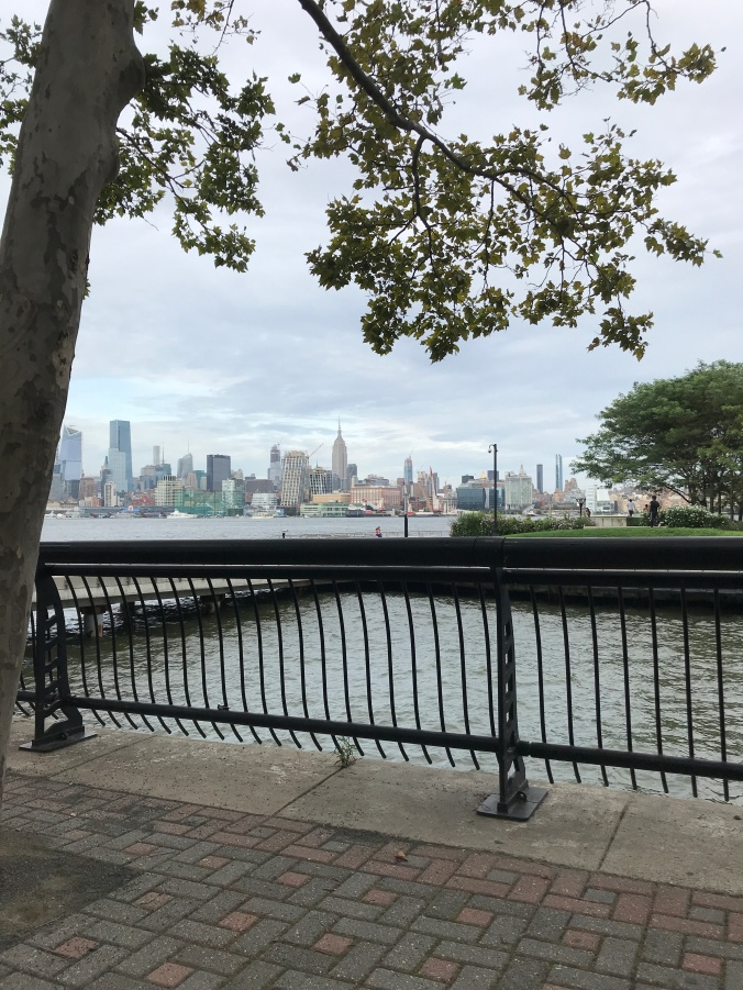 Leonard Cohen exhibit (I hadn't been to the Hoboken waterfront in over a year)