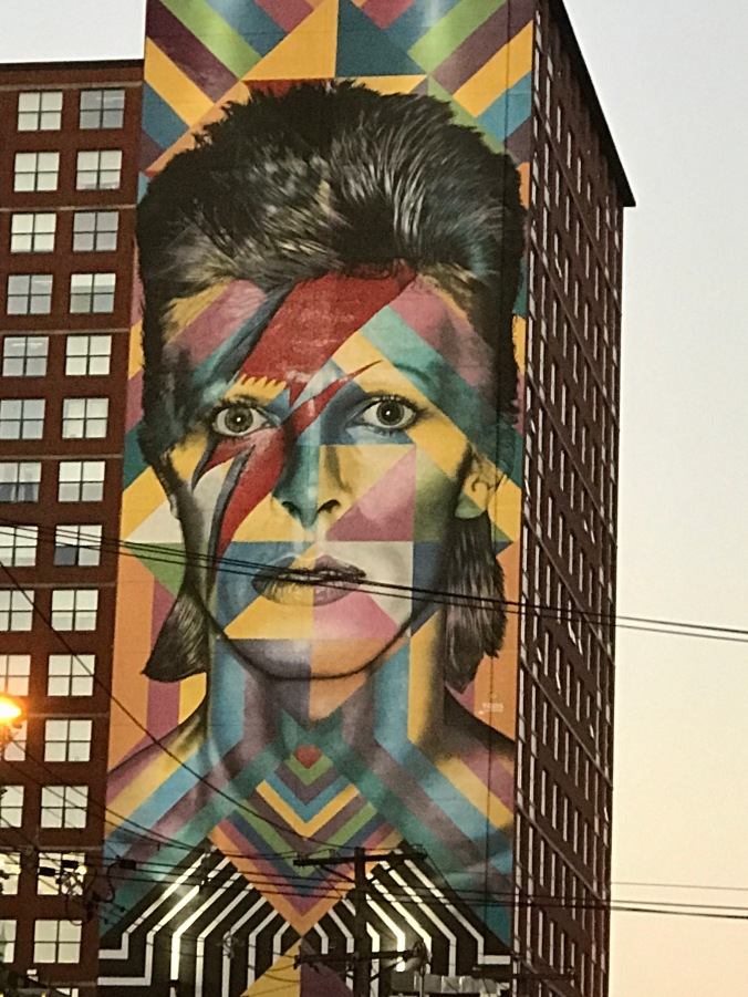 Suddenly Mad- Desperation (trip back from Theresa's apartment - David Bowie mural)