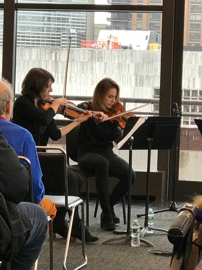 Suddenly Mad- Wish this was a dream (Lincoln Center Moments - Kaleidoscope NY Philharmonic teaching artists performing)