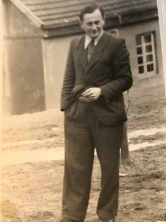 Suddenly Mad- Poof! (My late father Michael in Poland 1946)